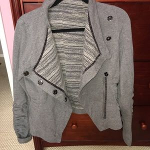 lululemon athletica Jackets & Coats - Lululemon Solace Jacket Gray 8